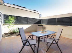 Loft con gran patio